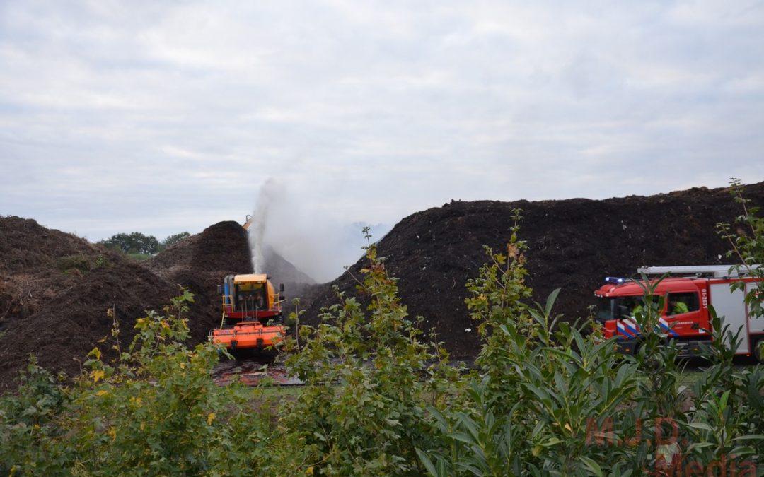 Brand op vuilstort Stadskanaal