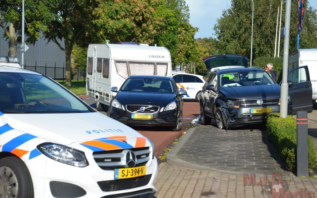Auto's botsen in Stadskanaal