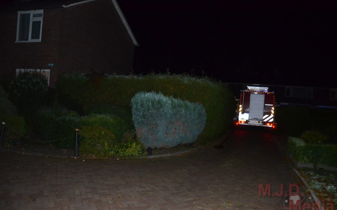 Voor de vijfde keer een autobrand in Maarsveld