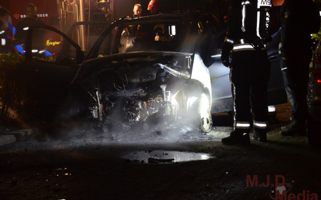 Auto uitgebrand in Stadskanaal