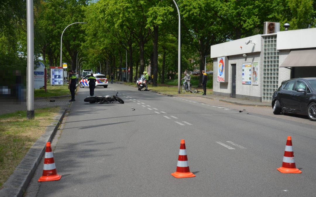 Motorrijder ernstig gewond na ongeval