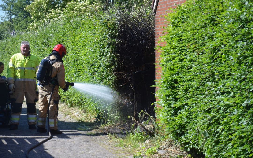 Buurtbewoners voorkomen grote brand
