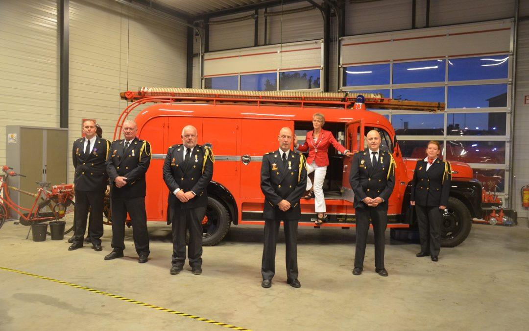 Brandweervrijwilligers Stadskanaal koninklijk onderscheiden